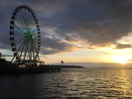 Seattle Ferris Wheel, WA