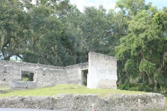 Old plantation ruins